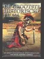 DVD - De Grootste Historische Films 8 DVD Box - Ben-Hur / Cleopatra / Spartacus / Quo Vadis ... - Historical Movie - Classiques