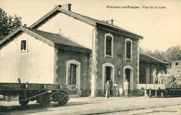 Ponteux Les Forges Vue De La Gare - Autres Communes