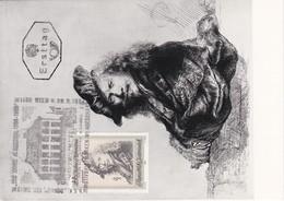 Carte Maximum Peinture 1969 Rembrandt Autriche - Maximumkarten (MC)