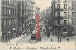 Hamburg - Grosser Burstah - 1905 - Allemagne
