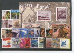 Polynesie Annees Completes (2003) N 682 A 704A Et BF 29 (Luxe) - Komplette Jahrgänge