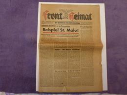 VIEUX JOURNAL ALLEMAND DU MOIS D'AOÛT 1944, VOIR SCAN - Revues & Journaux