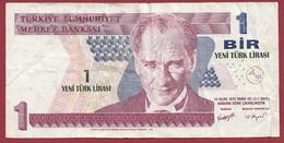 Turquie 1 New Lira 2005 Dans L 'état - Turkey