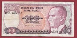 Turquie 1 Lira 1984 Dans L 'état - Turkey