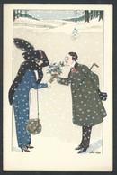 +++ CPA - Carte Fantaisie - Illustrateur XAVIER SAGER - B.G.Paris 528  // - Sager, Xavier
