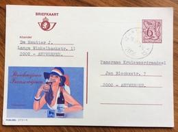 ENOLOGIA VINI FRANCESI  STREEKWIJNEN FRANSEWIJNEN ADVERTISING PUBBLICITA' SU CARTE POSTALE BELGIQUE - Lettere
