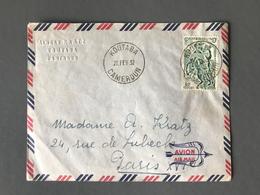 Cameroun N°291 Sur Lettre De KOUTABA Pour Paris 1952 - (B1584) - Cameroun (1915-1959)