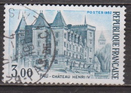 Sites Touristiques - FRANCE - Chateau D'Henri IV, Pau - N° 2195 - 1982 - Used Stamps