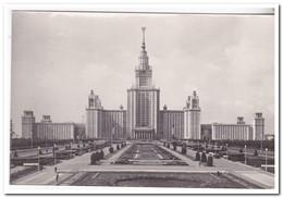 Moscow, Building Of The Moskow State M.V. Lomonosov University On Lenin Hills - Rusland