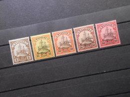 D.R.Mi 7/11/12/14/15*MLH - Deutsche Kolonien ( TOGO ) 1900/1919  Mi 8,60 € - Colony: Togo