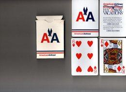 Jeu De 52 Cartes American Airlines (avion) - 54 Kaarten