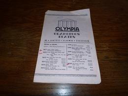 Catalogue Disques Olympia Gramoffon Platen De Laatste Vlaamse Successen  4p - Musique & Instruments