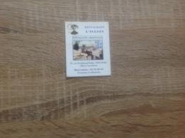 Ancienne Carte De Visite De Restaurant  L' Oasis   Paris 15eme - Cartoncini Da Visita