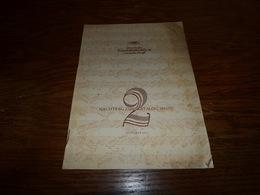 Catalogue Disques Deutsche Grammophon Nachtrag Zym Katalog 1951/52 2 Oktober 1951 - Musique & Instruments