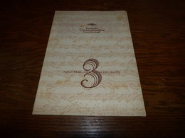 Catalogue Disques Deutsche Grammophon Nachtrag Zym Katalog 1951/52 3 - Musique & Instruments