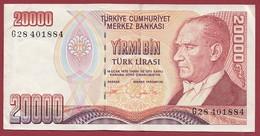 Turquie 20000 Lira 1995 Dans L 'état - Turkije