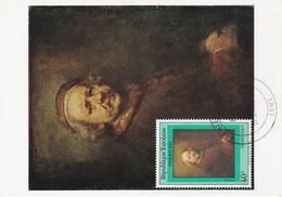 Carte Maximum Peinture Rembrandt 1981 Togo - Togo (1960-...)