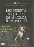 - DVD LES INSTANTS MAGIQUES DE LA COUPE DU MONDE 98 DVD 2 (D3) - Sports