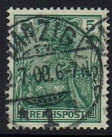 DR,1900,  MiNr 55, Getsempelt - Gebruikt
