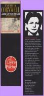 Marque-page °° Livre Poche - P.Cornwell Jack L'éventreur Affaire Classée - Dép2v  5x19 - Segnalibri