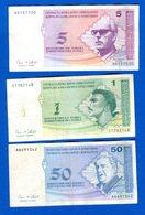 Bocnie - Herzegovone 3  Billets - Bosnie-Herzegovine