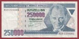 Turquie 250000 Lira 1998 Dans L 'état - Turquia