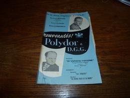 Catalogue Disques Nouveautés Polydor D.G.G. Format A5 4p (pli) - Musique & Instruments
