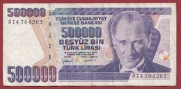 Turquie 500000 Lira 1998 Dans L 'état - Turquia
