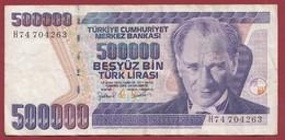 Turquie 500000 Lira 1998 Dans L 'état - Turkije