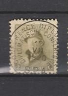 COB 166 Oblitération Centrale Conférence Diplomatique SPA - 1919-1920 Albert Met Helm