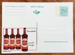 LIQUORI APERITIVI AMERICANO GANCIA  -   ADVERTISING PUBBLICITA' SU CARTE POSTALE BELGIQUE - Lettere