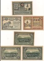 3 Notgeldscheine Vöcklabruck 10, 20 + 50 H - Austria