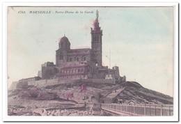 Marseille, Notre Dame De La Garde - Notre-Dame De La Garde, Lift En De Heilige Maagd