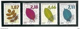 PREO 1996 - Y&T N° 236 à 239 - Feuilles D'arbres ( II ) - Vendus Sous Faciale. TB. - 1989-....