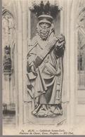 C. P. A. - ALBI - LA CATHÉDRALE SAINTE CÉCILE - POURTOUR DU CHŒUR - OSEUS - PROPHÈTE - 84 - N. D. - Albi