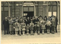 BERTEM :  Gemeentehuis :  Gouden Jubileum Van Va Gust En Moe Wis  :   : ( Vieux Photo      17 X 12 Cm ) - Places