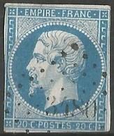 FRANCE - Oblitération Petits Chiffres LP 3480 VALMONT (Seine-Maritime) - 1849-1876: Période Classique