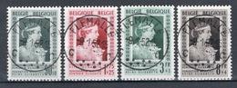 BELGIE: COB 863/865-867  MOOI GESTEMPELD. - Used Stamps
