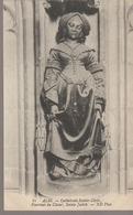 C. P. A. - ALBI - LA CATHÉDRALE SAINTE CÉCILE - POURTOUR DU CHŒUR - SAINTE JUDITH - 81 - N. D. - Albi