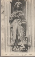 C. P. A. - ALBI - LA CATHÉDRALE SAINTE CÉCILE - SAINT JEAN - APÔTRE - 74 - N. D. - Albi