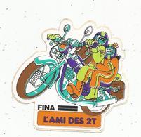 Autocollant FINA ,l'ami Des 2T , 2 Temps ,moto - Aufkleber