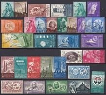 E105 – EGYPTE – EGYPT – 1958 – FULL YEAR SET – Y&T # 413/441 USED - Gebruikt