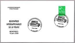 MERCADO DE LA TRUFA - TRUFFLE MARKET. Menerbes 2008 - Hongos