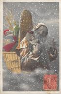 CPA Fantaisie - Père Noël - Santa Claus - Poupée - Santa Claus