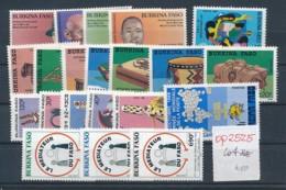 Burkina Faso Lot      **    (op2525  ) Siehe Scan - Burkina Faso (1984-...)