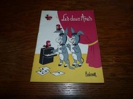 Programme Cabaret Les Deux Anes 24p 1955/56 Pubs SImca Philips Gervais Etc Etc - Programma's