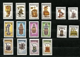 4 Séries Complètes Bophuthatswana Timbres Neufs  Téléphones Communications - Bophuthatswana