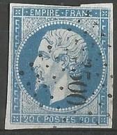 FRANCE - Oblitération Petits Chiffres LP 3500 VATAN (Indre) - Marcophily (detached Stamps)