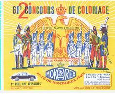 Buvard MOKAREX 2 ème Grand Concours De Coloriage Epopée Napoléonienne - Café & Thé