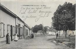 80, Somme, GUIGNEMICOURT, La Place, Scan Recto Verso - Autres Communes